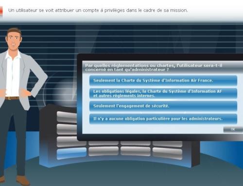 Air France – Sensibilisation sécurité (2013)