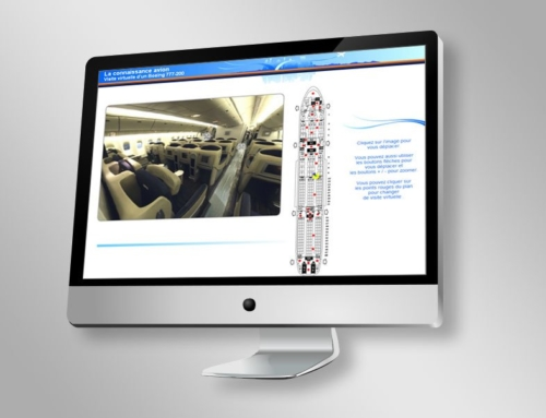 Air France – Visite virtuelle (2007)