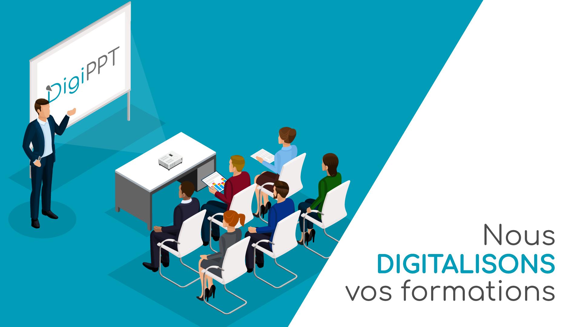 Digitalisez vos formations